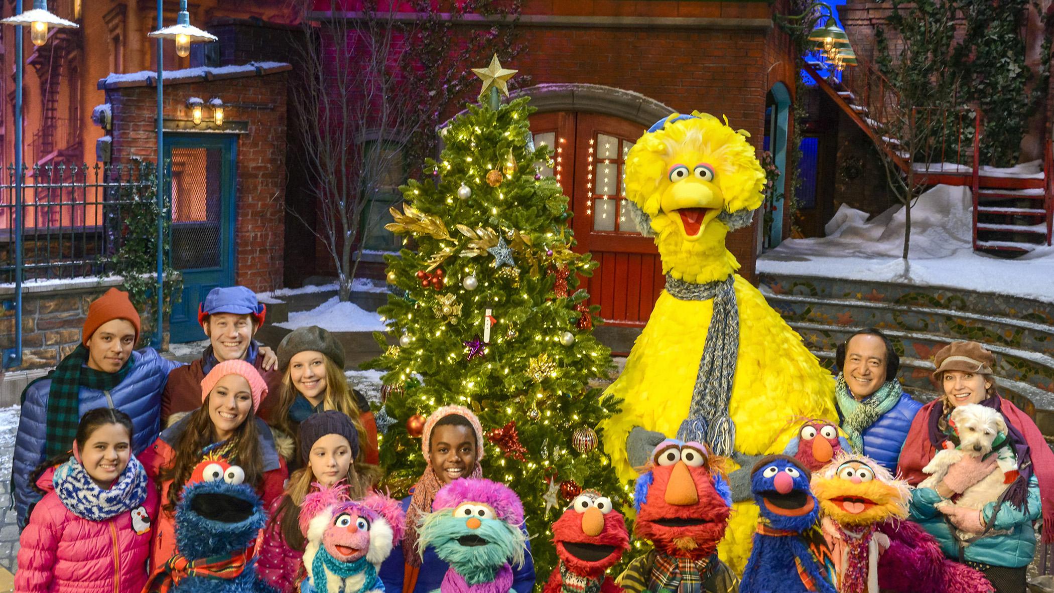 Christmas Eve On Sesame Street.Whro Once Upon A Sesame Street Christmas