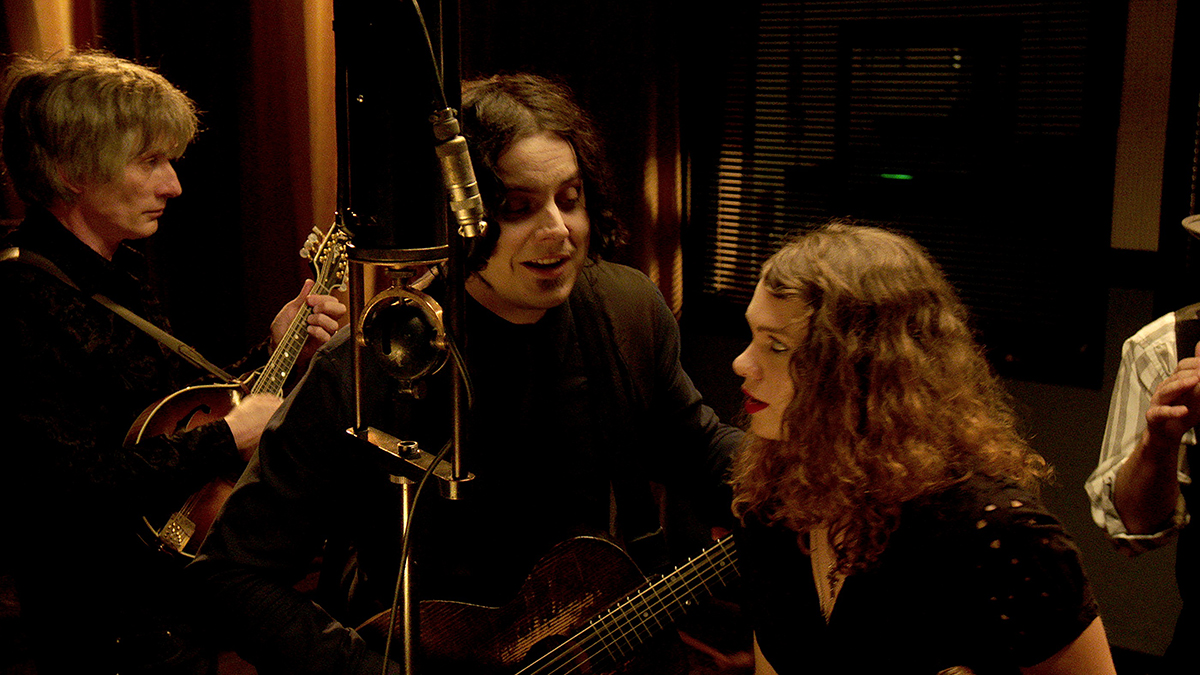 "Jack White recording ""Matrimonial Intentions"" for ""The American Epic Sessions."" Photo Credit: Courtesy of ©2017 Lo-­‐Max Records Ltd."