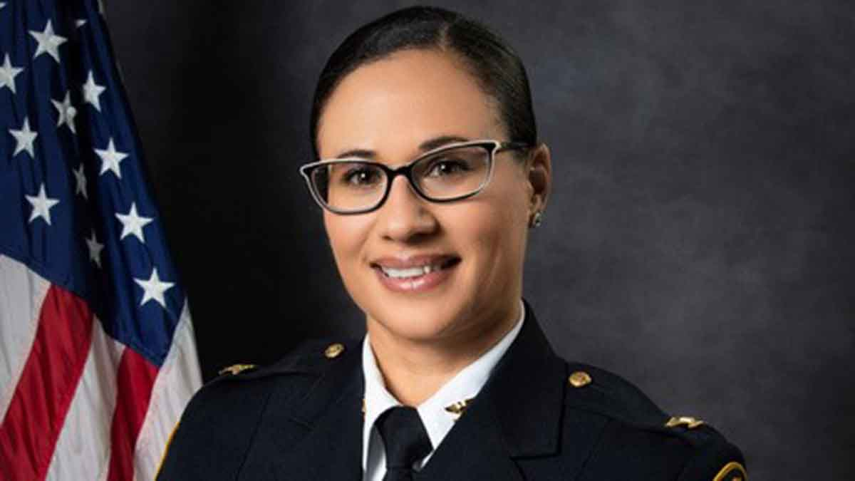 Photo from portsmouthpd.us. Portsmouth Police Chief Angela Greene was appointed to her position last year.