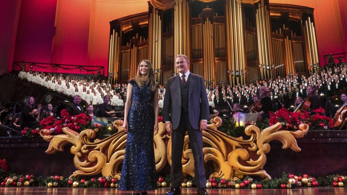 WHRO - Christmas with the Mormon Tabernacle Choir Featuring Sutton ...